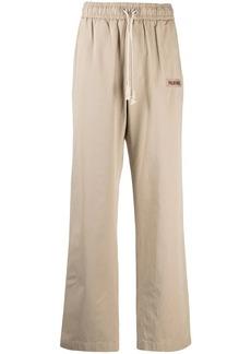 Palm Angels side-stripe straight-leg trousers