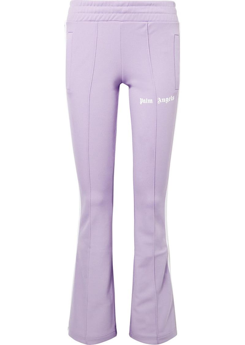 Palm Angels Striped Satin-jersey Track Pants