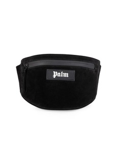 Palm Angels Suede Fanny Pack