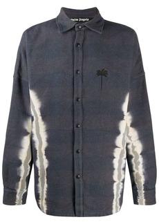 Palm Angels tie-dye palm overshirt