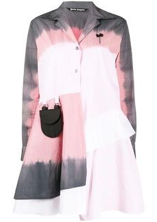 Palm Angels tie-dye shirt dress