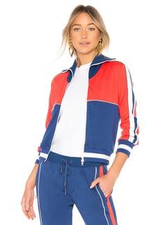 Pam & Gela Colorblock Slim Track Jacket