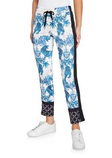 Pam & Gela Jagger Printed Crop Slim Pants