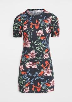 Pam & Gela Bali Hai Puff Short Sleeve Dress