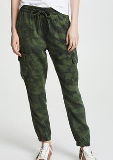 Pam & Gela Bronze Stripe Camo Sweatpants