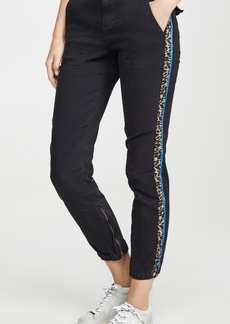 Pam & Gela Cargo Elastic Hem Pants