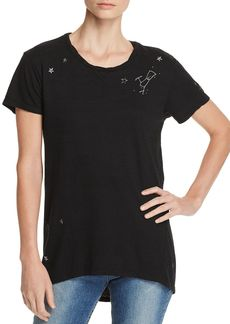 PAM & GELA Constellation Embroidered Tee