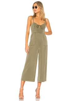 Pam & Gela Knot Front Strappy Jumpsuit