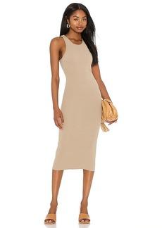 Pam & Gela Rib Tank Midi Dress