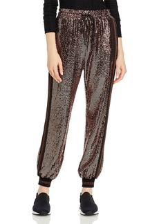 PAM & GELA Rose Mirror Ball Jogger Pants