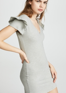 Pam & Gela Ruffle Sleeve Dress
