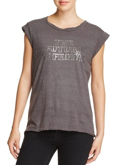 PAM & GELA The Future is Female Muscle Tee