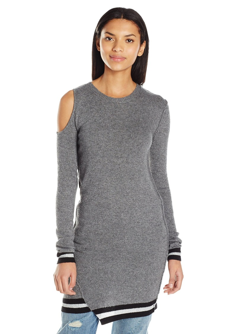 Pam & Gela Women's Cold Shoulder Dress  M