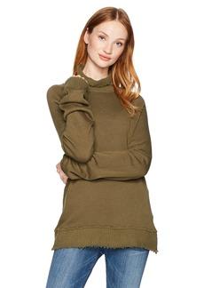 Pam & Gela Women's Fleece Turtleneck  P