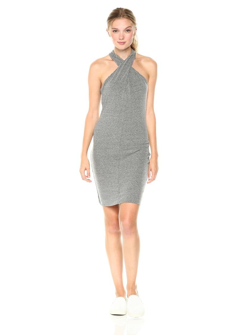Pam & Gela Women's Twist Collar Dress  P