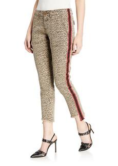 Pam & Gela Side Stripe Pants w/ Lace-Up Back Detail