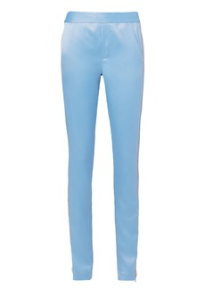 Pam & Gela Track Striped Silk Pants