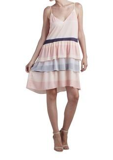 Paper Crown Atacama Sleeveless Tier Dress