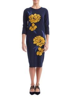 Paper Crown Carmen Knee-Length Dress