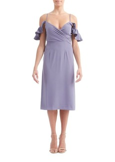 Paper Crown Celia Cold Shoulder Dress