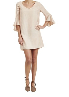 Paper Crown Easton Solid Shift Dress