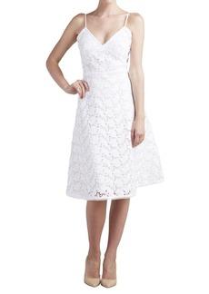 Paper Crown Jade Lace Sleeveless Dress
