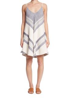 Paper Crown Kinsley Herringbone Dress