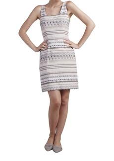 Paper Crown Oleander Sleeveless Textured Dress