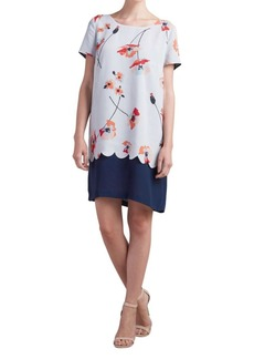 Paper Crown Short-Sleeve T-Shirt Dress