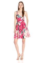 Paper Crown Women's Dakota Floral Fit-and-Flare Dress Brimfield