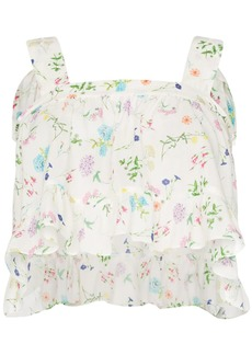 PAPER London Emily Wild Card floral top