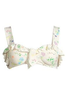 PAPER London Langkawi Go With The Flower Bikini Top