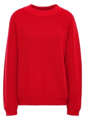 Paper London Woman Striped Knitted Sweater Red
