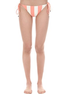 PAPER London Striped Bikini Bottoms