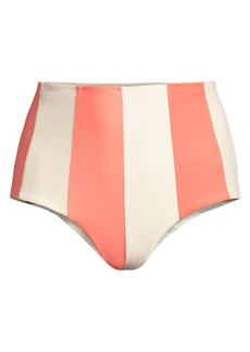 PAPER London Sunshine Stripe Bikini Bottom