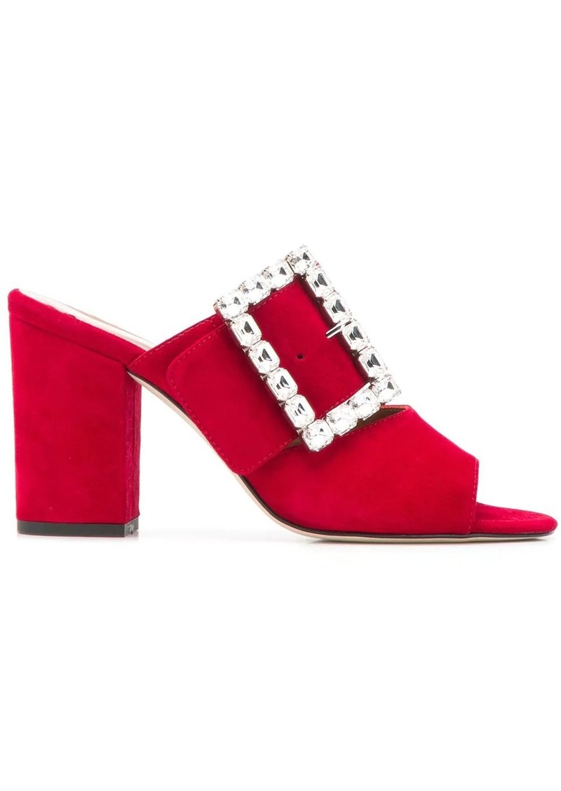 Paris Texas buckled high-heeled sandals