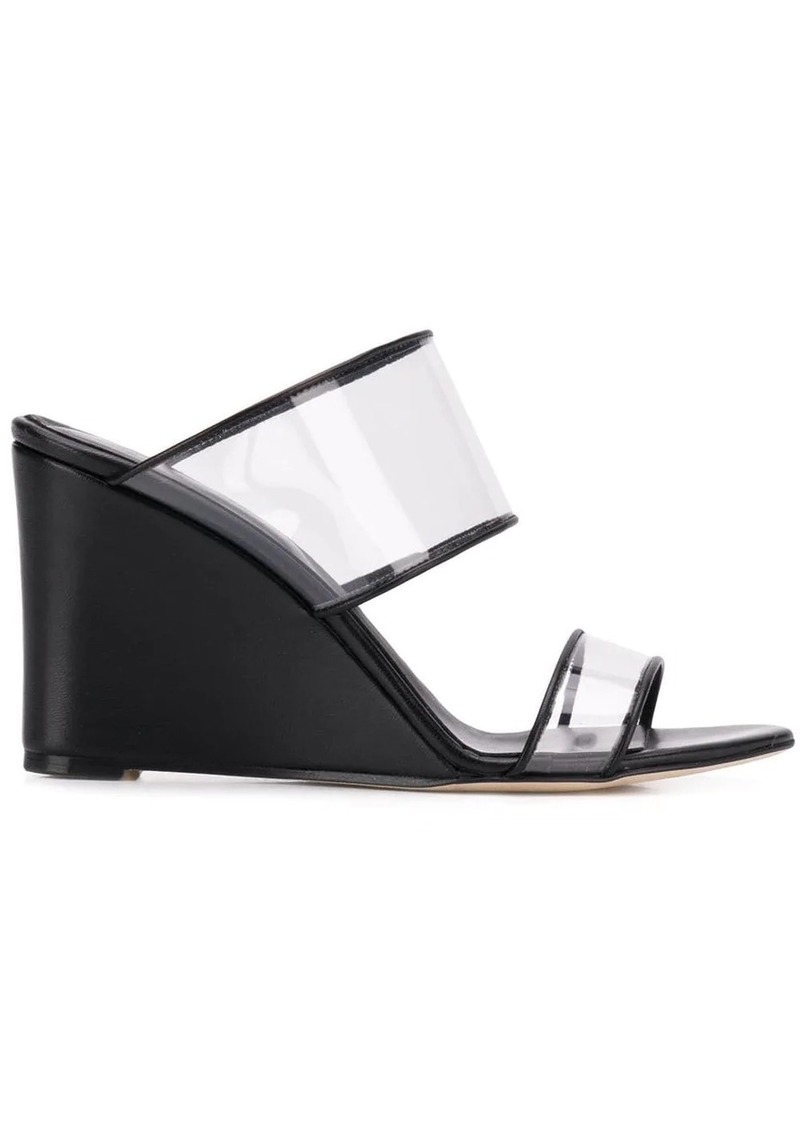 Paris Texas clear strap sandals