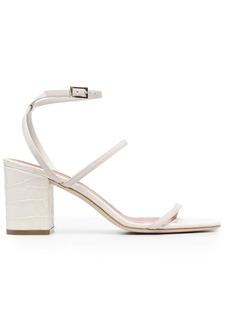 Paris Texas croc-effect open-toe sandals