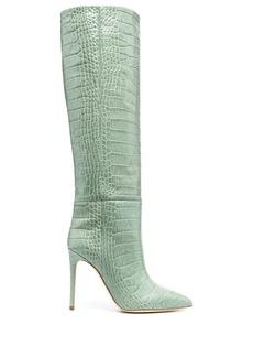 Paris Texas croco-embossed boots