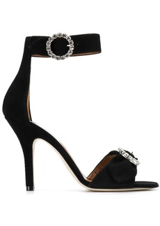 Paris Texas crystal embellished sandals