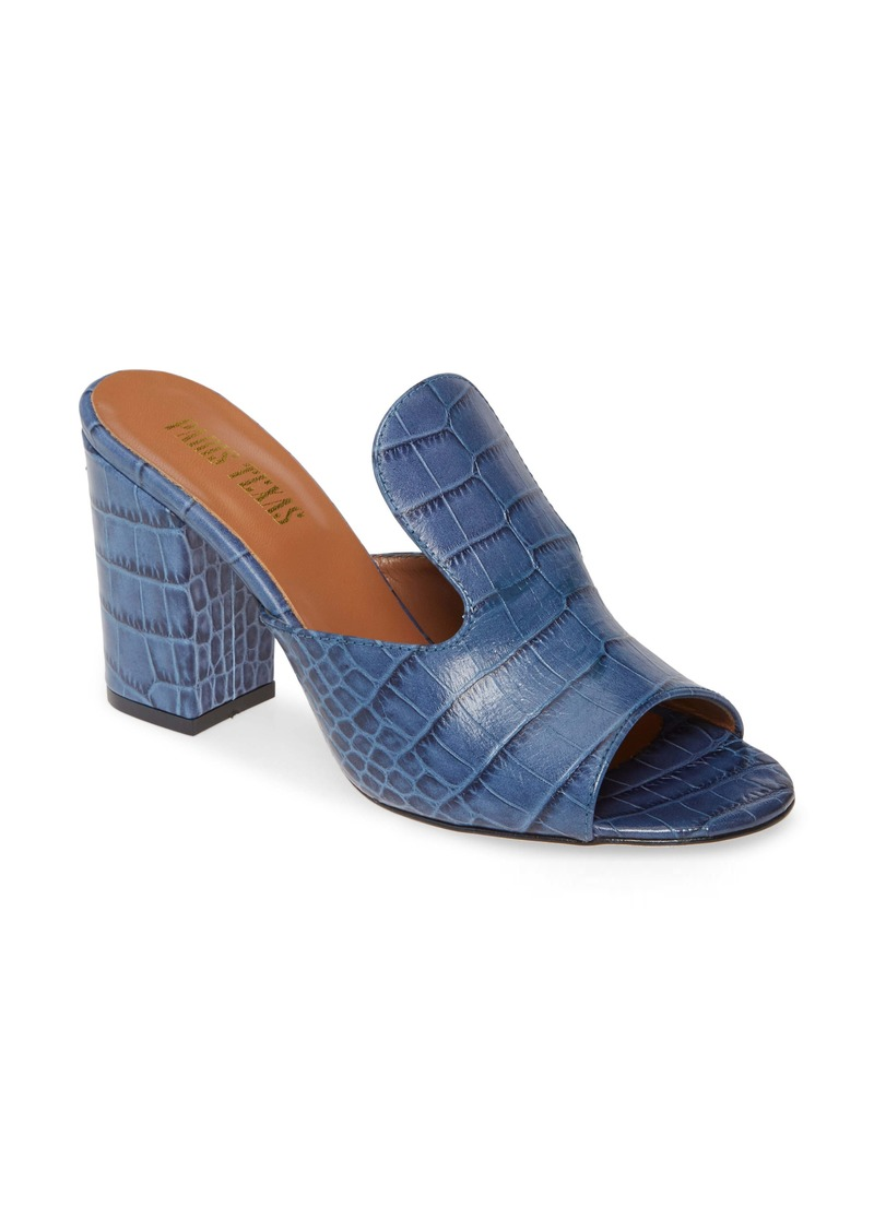 Paris Texas High Mule Slide Sandal (Women)