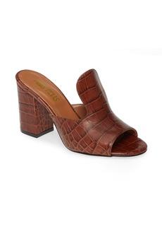 Paris Texas High Mule Slide Sandal (Women)