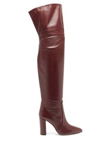 Paris Texas Over-the-knee leather boots