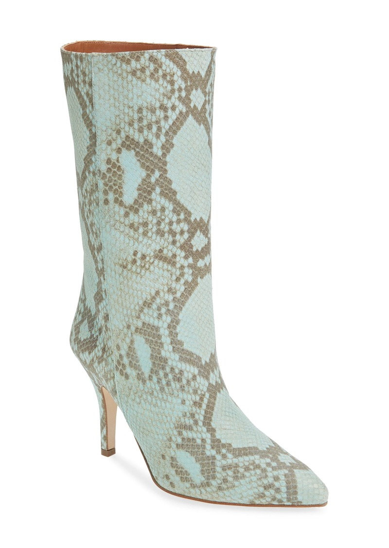 Paris Texas Python Embossed Boot (Women)