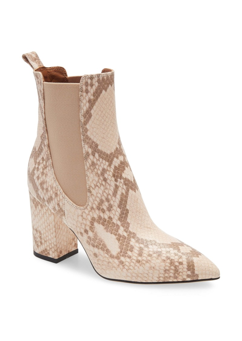 Paris Texas Python Embossed Bootie (Women)