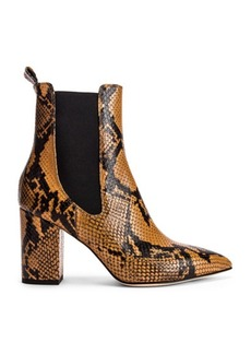 Paris Texas Python Print Ankle Boot