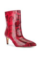 Paris Texas Python Print Stiletto Ankle Boot