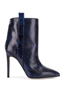Paris Texas Snake Print Ankle Boot