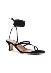 Paris Texas Suede Wrap Sandal