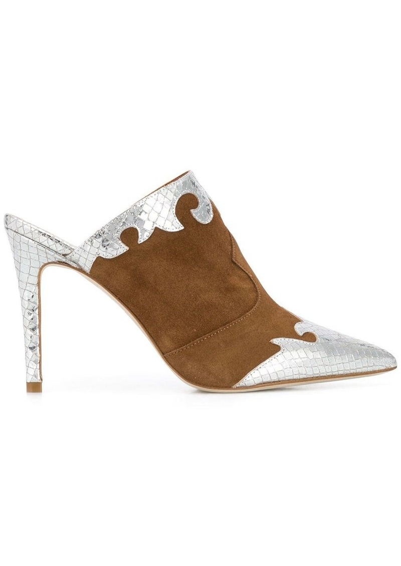 Paris Texas pointed mules